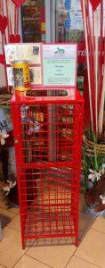 Neue Futterspendenbox