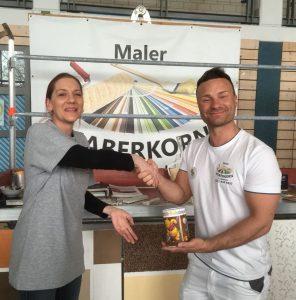 Danke an Maler Haberkorn aus Weidenberg