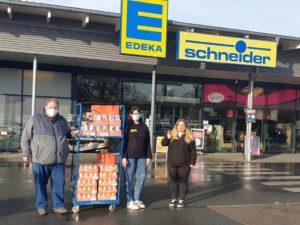 Spende von EDEKA Schneider